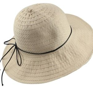Accessories - Wide Brim Summer Beach Sun Hat For Women Foldable